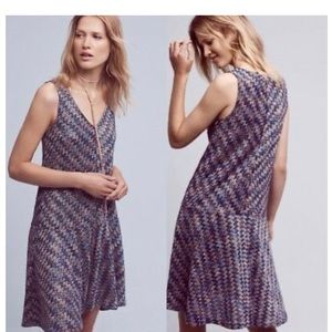 Westwater  Dress by Maeve for Anthropologie BLUE